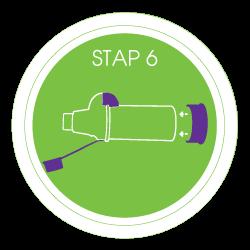 voorzetkamer schoonmaken stap 6